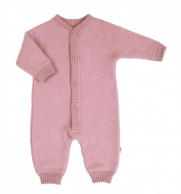 Overall lână merinos fleece Joha - Dusty Rose