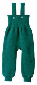 Pantaloni cu bretele lână merinos Disana - Pacific