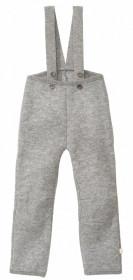 Pantaloni din lână fiartă Disana - Grey