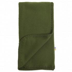 Patura Joha din lână merinos fleece- Bottle Green