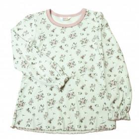 Pijama din bumbac organic Joha - Floral