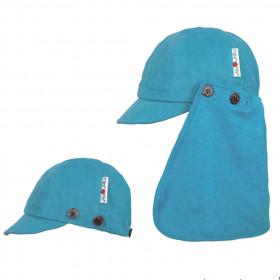 Șapcă ajustabilă ManyMonths cânepă și bumbac - Milky Blue