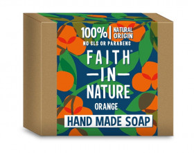 Sapun solid cu portocale, Faith in Nature, 100 g