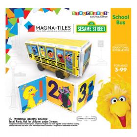 Sesame Street School Bus, Magna-Tiles Structures