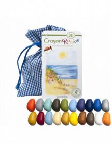 Set Crayon Rocks, 20 buc, Seaside Bag