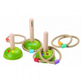 Set de joaca cu inele, Plantoys