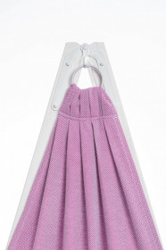 Sling cu inele Lennylamb - Little Herringbone Purple