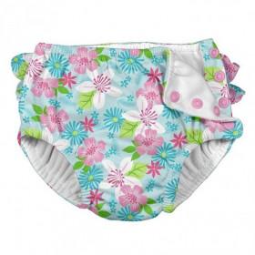 Slip de inot refolosibil Iplay UPF 50+ - Aqua Paradise Flower