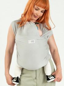 Wrap elastic Isara - Silver Grey