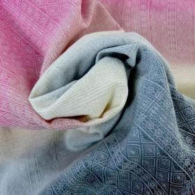 Wrap tesut, portbebe , DIDYMOS - Prima Summer Hibiscus size 5 (4,2 m)