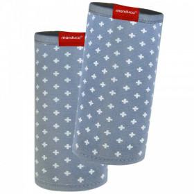 Protecții bretele - Manduca FumBee BellyButton WildCrosses Blue