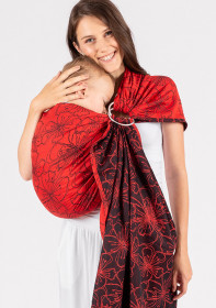 Sling cu Inele Isara Bloom In Rouge