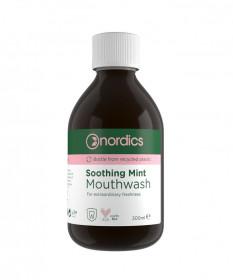 Apa de gura calmanta cu menta, pt. prospetime extraordinara, Nordics, 300 ml