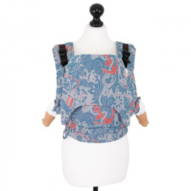 Baby Size: Fidella Fusion Full Wrap Conversion, Sea Anchor -maritime blue (Transport Gratuit)