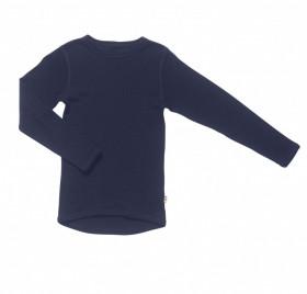 Bluză Joha lână merinos - Basic Navy