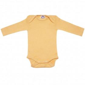 Body Cosilana lână merinos, mătase si bumbac - Yellow Melange