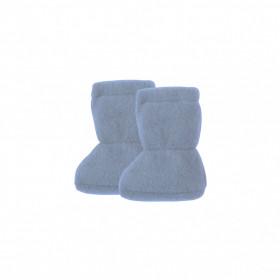 Botosei din lână merinos fleece Pure Pure - Dusty Blue
