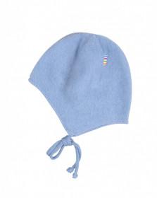 Caciula lână merinos fleece Joha - Basic Blue