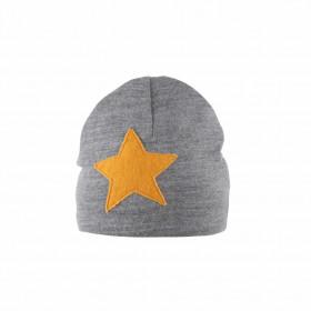 Caciula Pure Pure din lana merinos - Star Grey