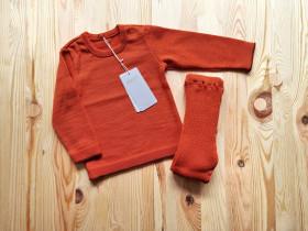 Colanti Disana lână merinos - Orange