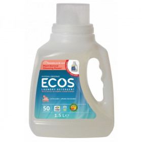 ECOS - Detergent lichid de rufe superconcentrat - magnolie si lacramioare, Earth Friendly Products