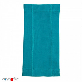 Esarfa ManyMonths Kid MultiTube lână merinos - Royal Turquoise
