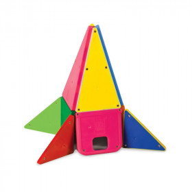 Magna-Tiles Solid Colors set magnetic (48 piese)