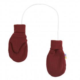 Manusi Joha din lana merinos - Crimson Red