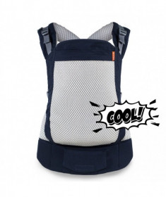 Marsupiu ergonomic, portbebe , Beco Toddler, Cool Navy - Aerisit, Cu Plasă 3D Și SPF 50