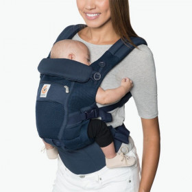 Marsupiu ergonomic, Ergobaby Adapt Cool Air Mesh, Deep Blue