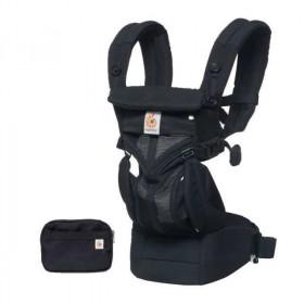 Marsupiu ergonomic, portbebe ,Ergobaby Omni 360 Cool Air Mesh Onyx Black