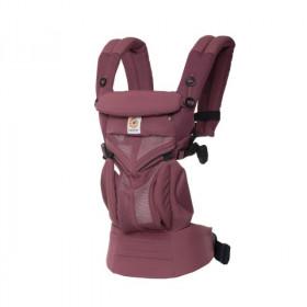 Marsupiu ergonomic,portbebe Ergobaby Omni 360 Cool Air Mesh Plum