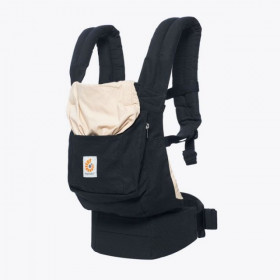Marsupiu ergonomic, portbebe ,Ergobaby Original, BLACK & CAMEL