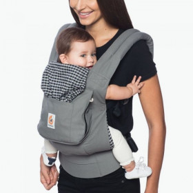 Marsupiu ergonomic,Ergobaby Original, STEEL PLAID PHOENIX