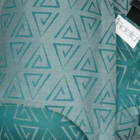 Marsupiu Ergonomic,Fidella Fusion Baby Wrap Conversion, Paperclips - vintage vibes