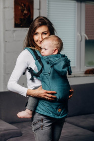 Marsupiu ergonomic,LennyGo Toddler, Amazonite Full Wrap Conversion