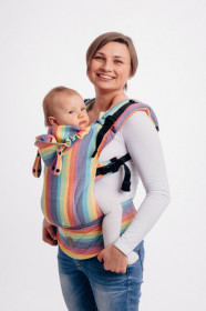 Marsupiu ergonomic,LennyGo Toddler, Luna - Full Wrap Conversion