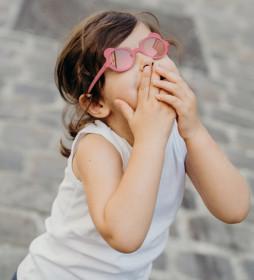 Ochelari de soare Ki ET LA ,2-4 ani - Ourson Antik Pink