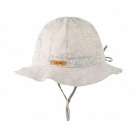 Pălărie ajustabilă Light Pure Pure din in - Sand