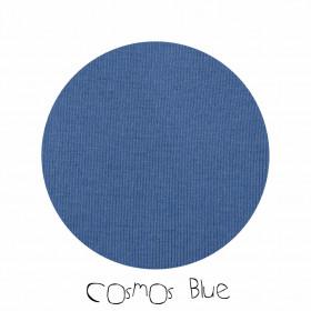 Pantaloni dublati Manymonths Patches lână merinos - Cosmos Blue