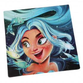 Puzzle 25 piese, Princess Marine, Cubika