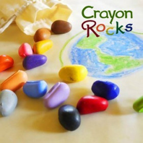 Set Crayon Rocks - 16 Creioane Naturale