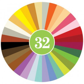 Set Crayon Rocks - 64 Creioane Naturale/ 32 culori
