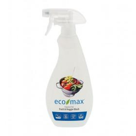 Solutie pentru curatarea fructelor si legumelor, fara miros, Ecomax, 710 ml