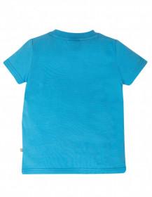Tricou din bumbac organic -  Motosu BlueOctopus, Frugi