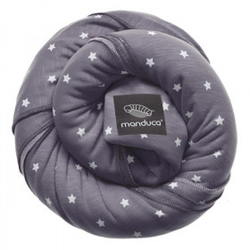 Wrap elastic Manduca, LittleStars Slate