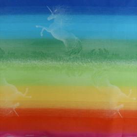 Wrap tesut, portbebe ,  Didymos Rainbow Unicorn, marimea 5 (4,2m)