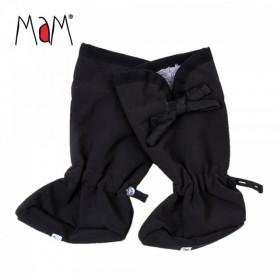 Botosei MaM SoftShell Winter Booties pt babywearing - Black/Rock Grey
