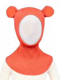 Cagula ManyMonths Teddy Bear lână merinos - Precious Coral