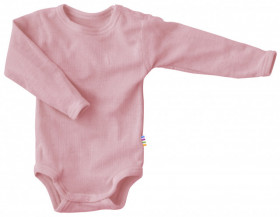 Body Joha din lână merinos - Basic Dusty Rose